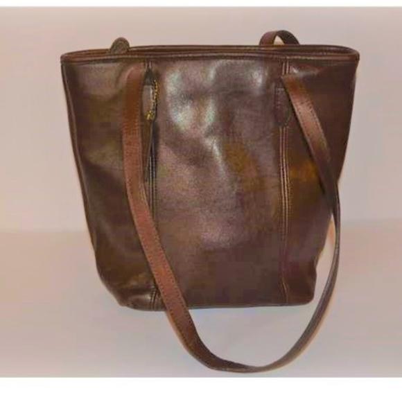 a187000152 Coach Handbags - Vintage Coach Chocolate Brown Shoppers Tote